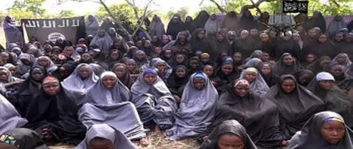 School girls kidnapped by Boko Harum