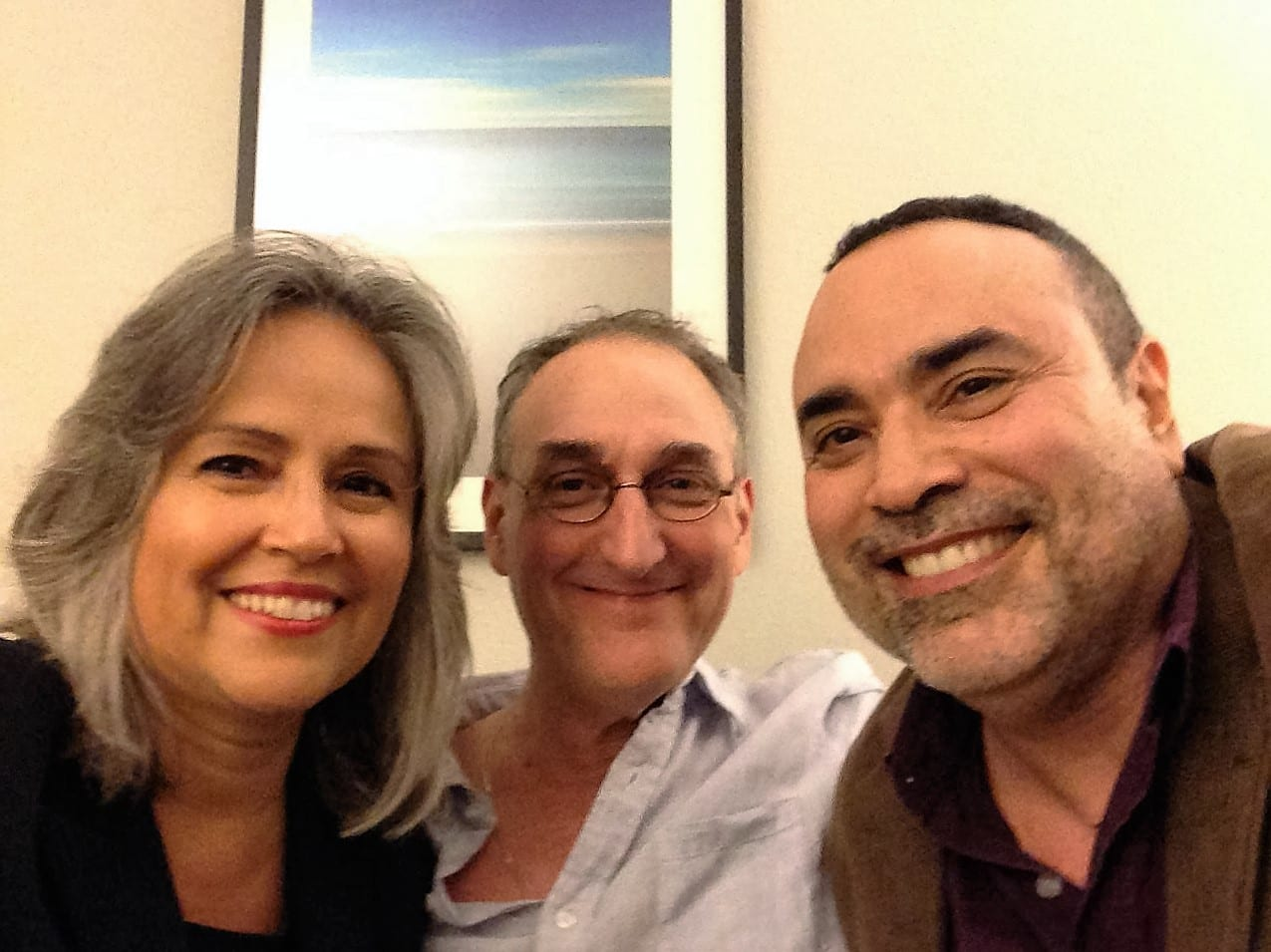 A recent photo of Gladys Gonzalez, myself, and Nestor Garcia M.D.