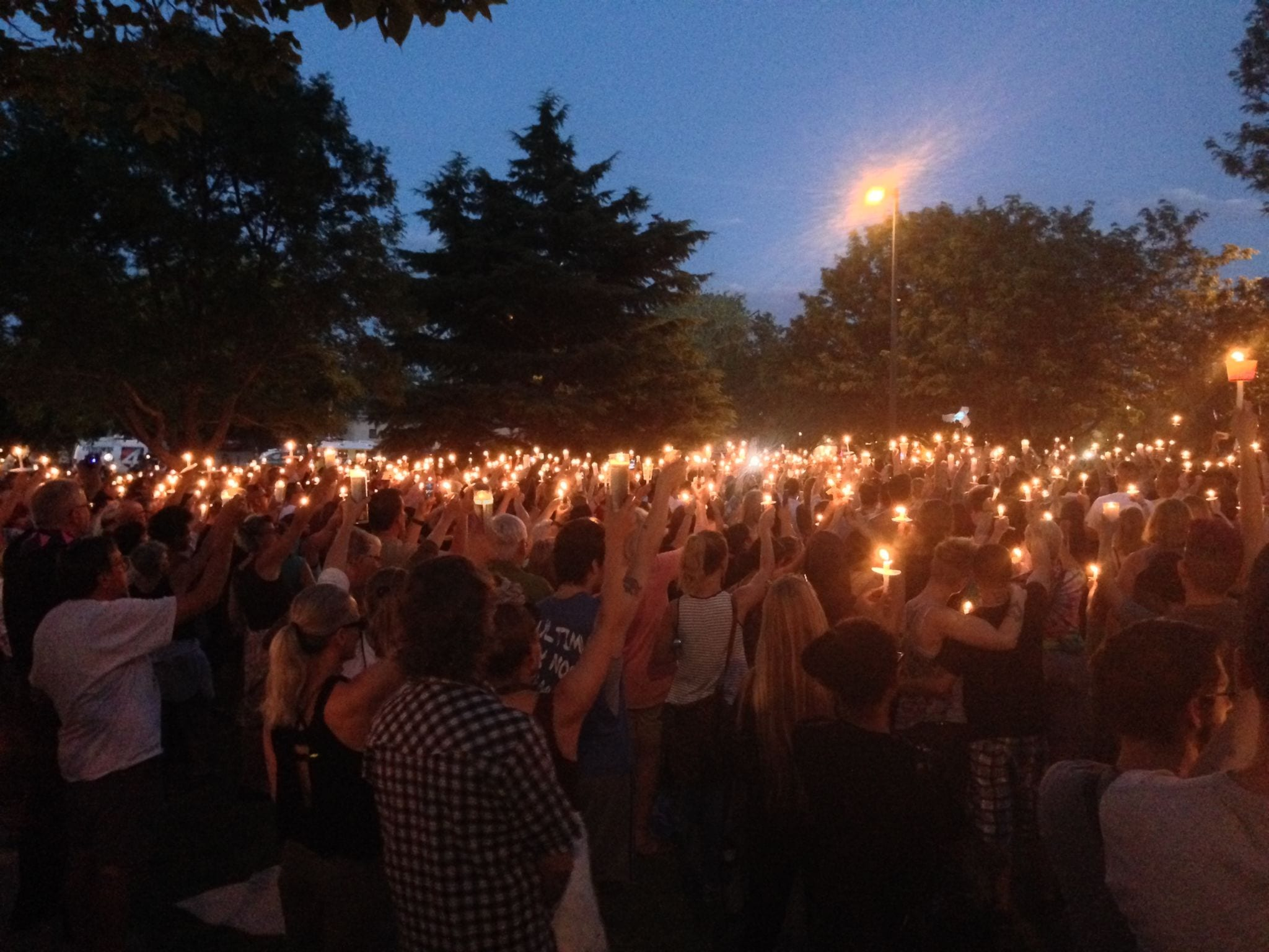 Albuquerque vigil for Orlando nightclub shooting 2016