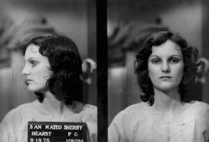 mug shot of Patty Hearst
