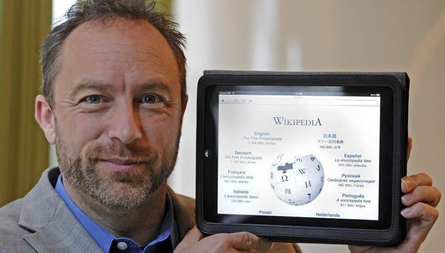Jimmy Wales in 2017, Founder of Wikipedia