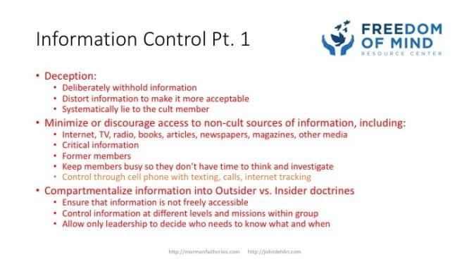 Information Control part 1 slide