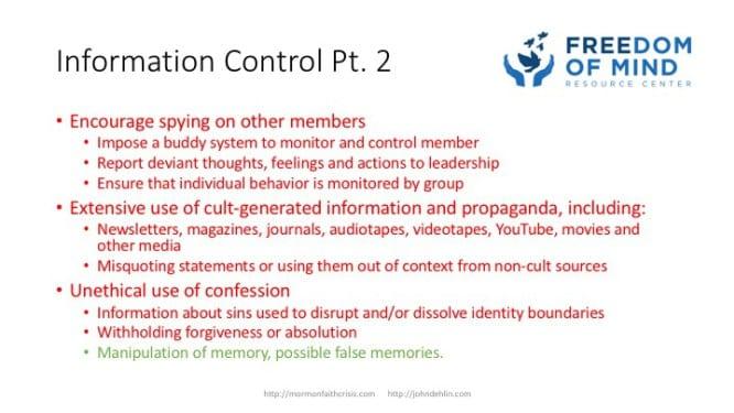 Information Control part 2 slide