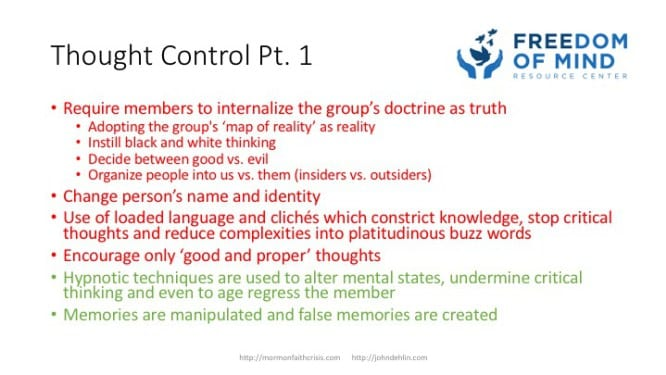 Thought Control part 1 slide