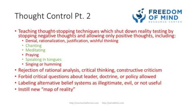 Thought Control part 2 slide