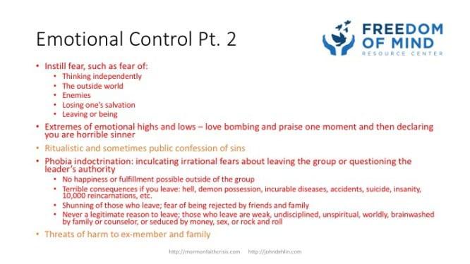 Emotional Control part 2 slide