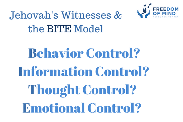 The BITE Model and Jehovah's Witnesses - Freedom of Mind Resource Center