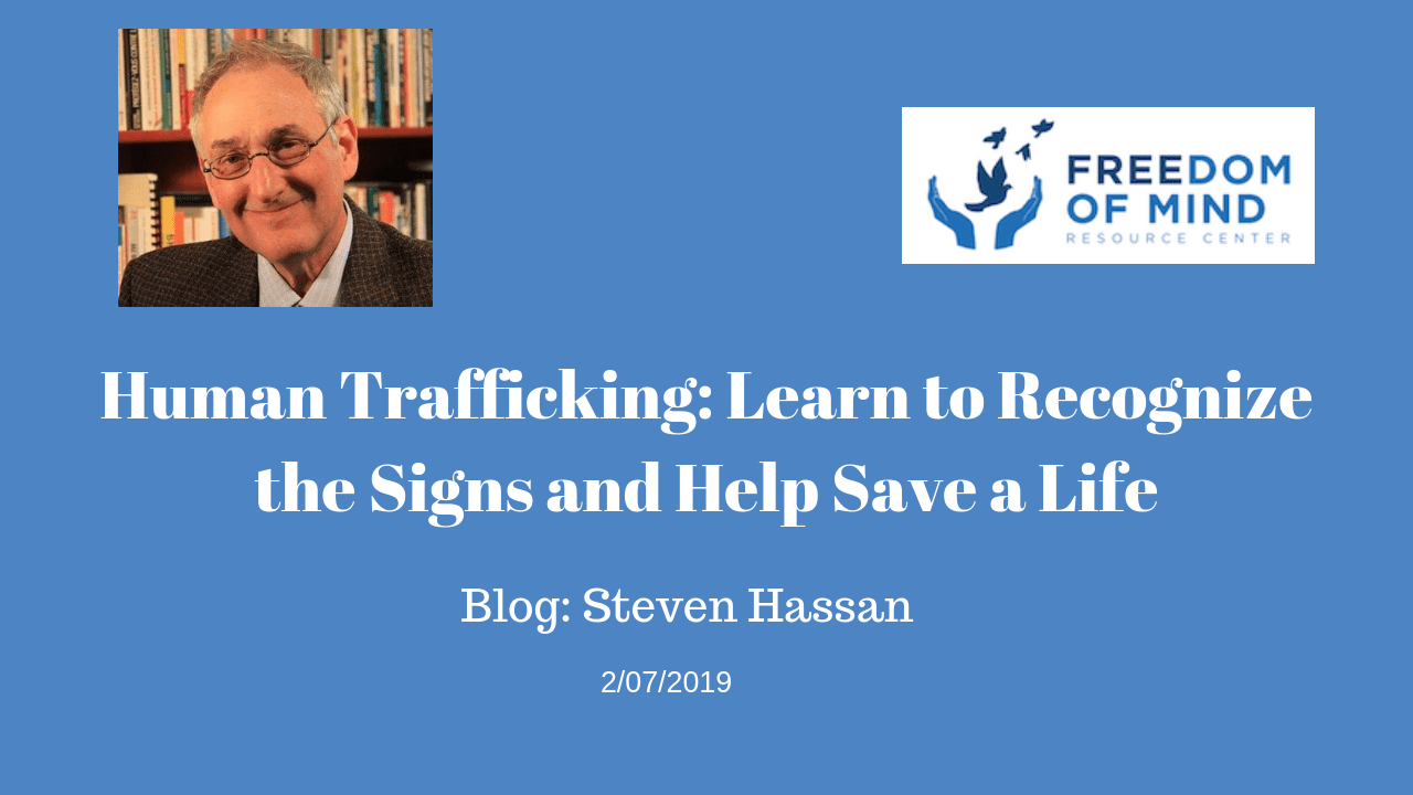 Human Trafficking: Learn to Recognize the Signs and Help Save a Life