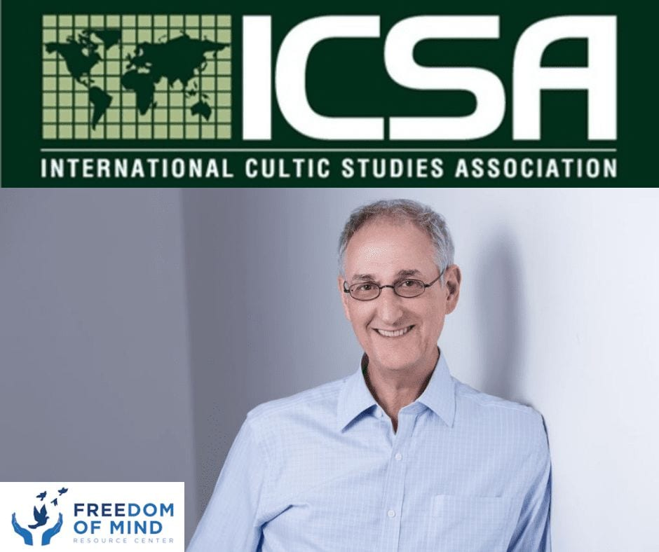 The 2019 International Cultic Studies Association (ICSA) Conference in Manchester, England