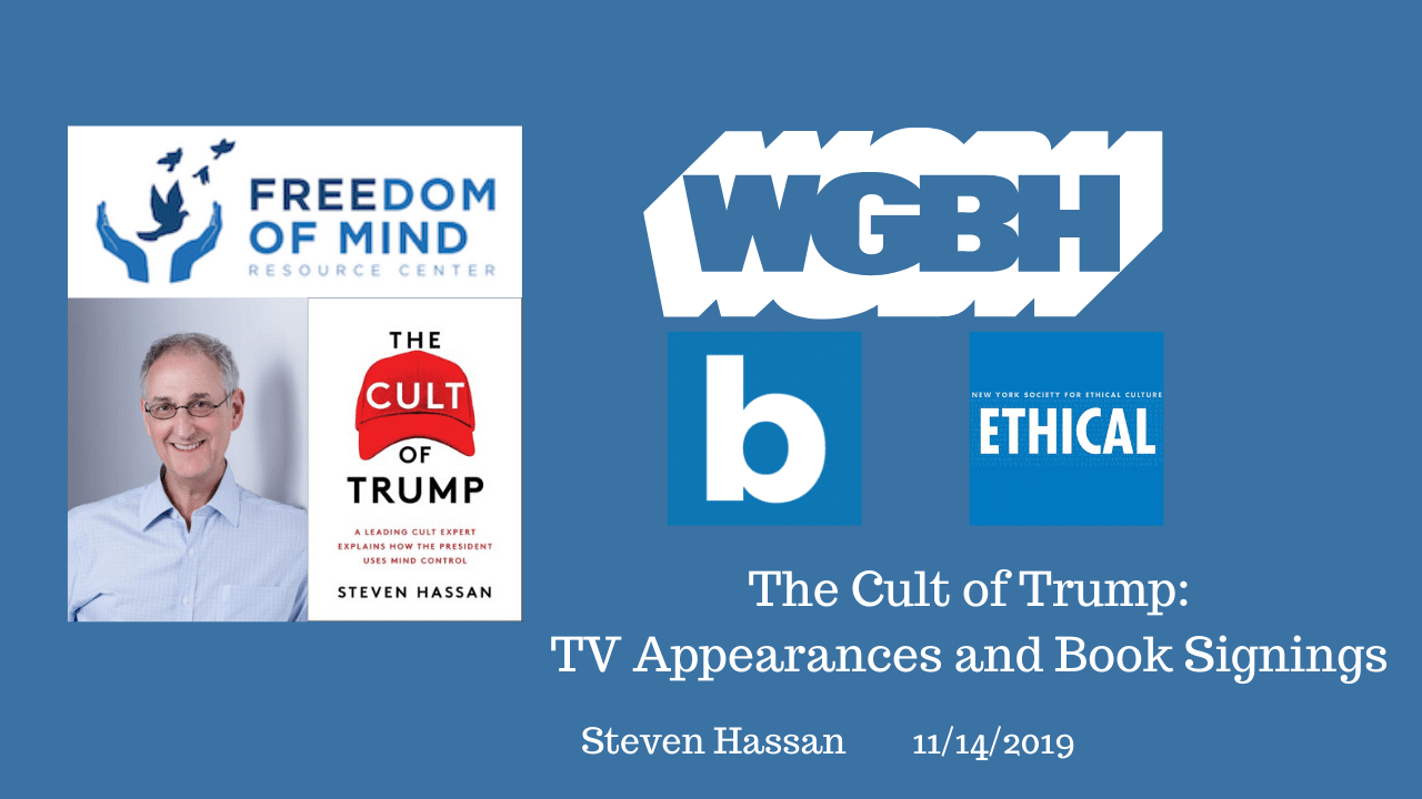 The Cult of Trump: TV Appearances and Book Signings