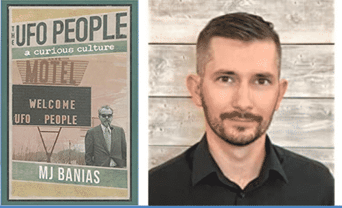 UFOs, Anti-Government Conspiracy Theories, Covid-19, and Indoctrination With Author and Journalist MJ Banias