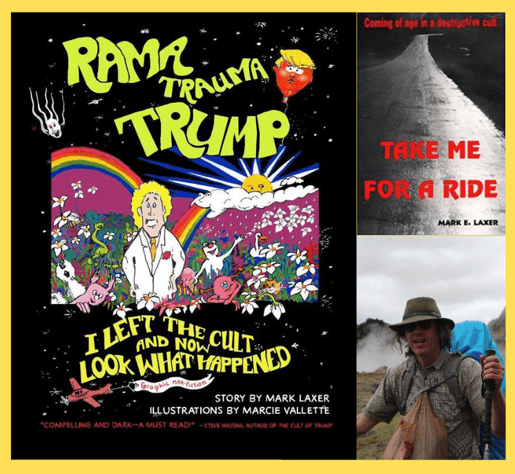 'Rama Trauma Trump – I Left the Cult and Now Look What Happened' With Author Mark Laxer