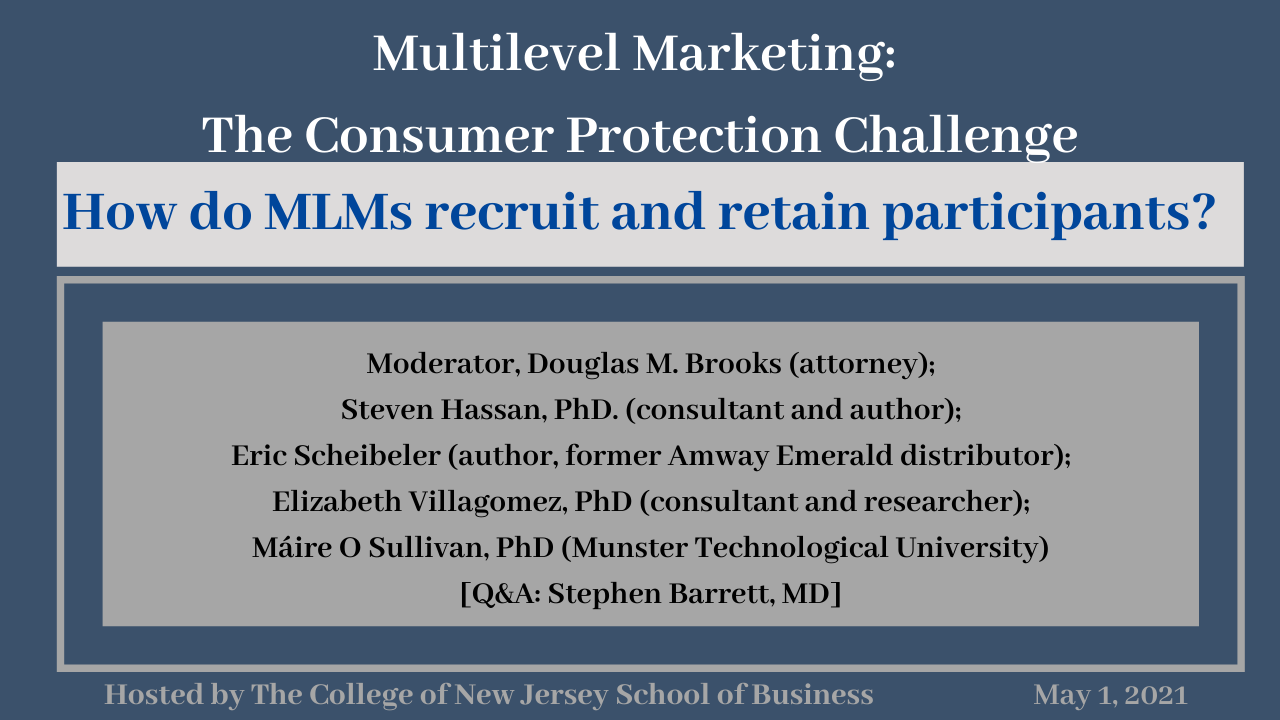 Multilevel Marketing and Consumer Protection