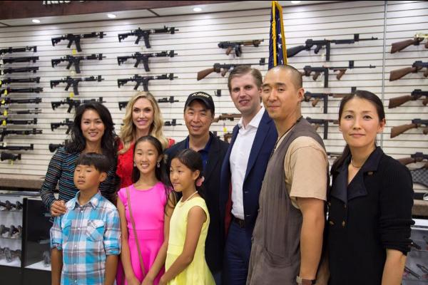 Trump Moon Tommy Gun Warehouse Insurrection Moonie